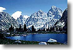 Lake Solitude Jackson Hole Wyoming Grand Teton National Park
