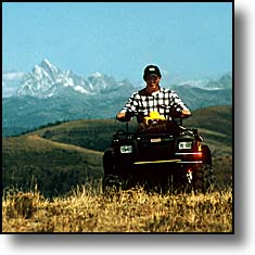 ATV Tetons Swan Valley Idaho Skyline Road