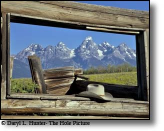 window, shane cabin, Grand tetons, Jackson Hole, Wyoming