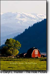 Spring Gulch Barn, Jackson Hole, Wyoming