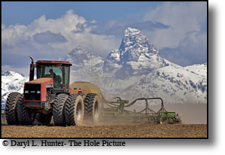 Farming with a view, Teton Valley, Idaho, agriculture
