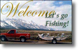Fly-fishing advertising opportunities  around Yellowstone