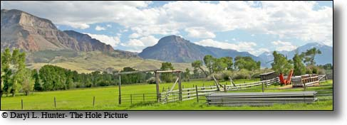 Old Ranch, south fork shoshone river valley, cody wyoming