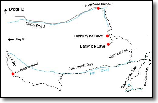 darby fox creek map