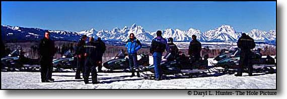 Grand Teton Snowmobiling Tours